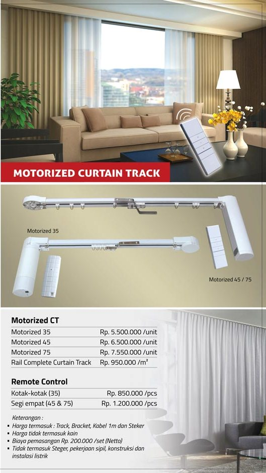 02 MOTORIZED CURTAIN TRACK