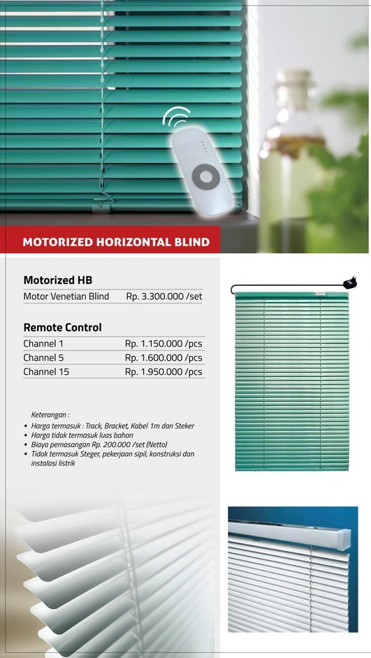 03 MOTORIZED HORIZONTAL BLIND