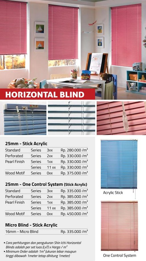 04 HORIZONTAL BLIND