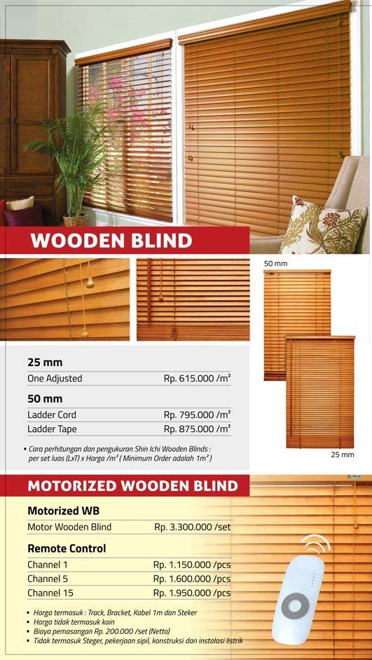 05 WOODEN BLIND