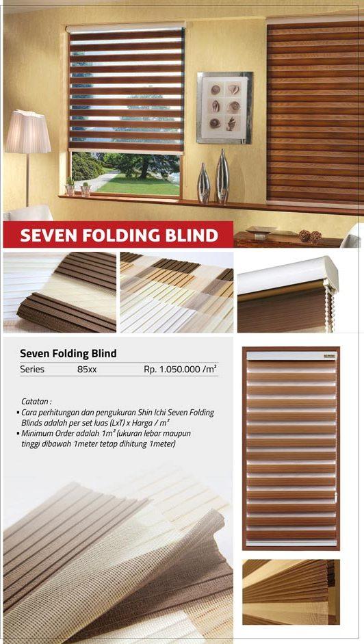 08 SEVEN FOLDING BLIND
