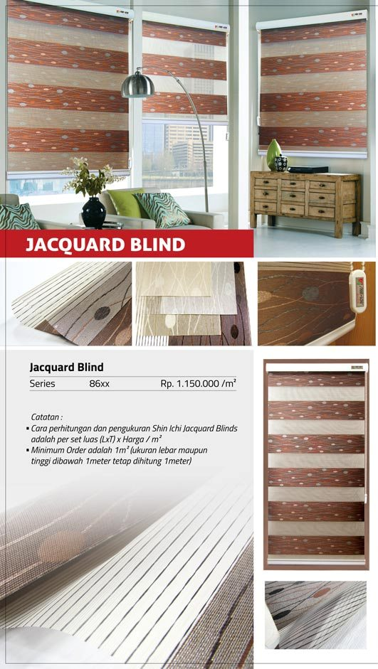 09 JACQUARD BLIND