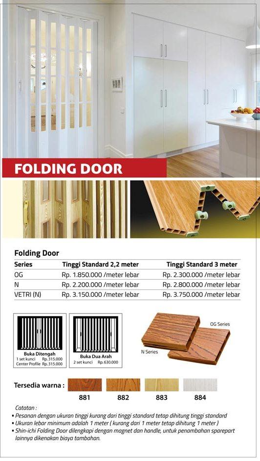14 FOLDING DOOR